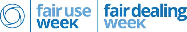 official logo of fair use and fair dealing week