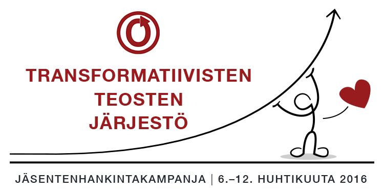 Transformatiivisten teosten järjestön jäsentenhankintakampanja, 6.–12. huhtikuuta 2016