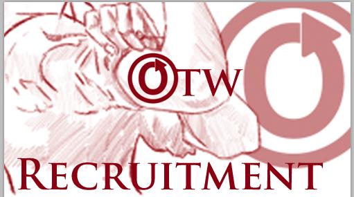 OTW Recruitment banner by Erin