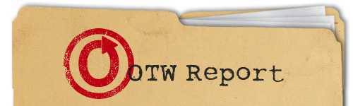 File folder labeled with 'OTW Report' and the OTW logo