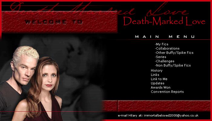 Death-Marked Love Site Banner