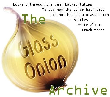 Glass Onion Archive banner