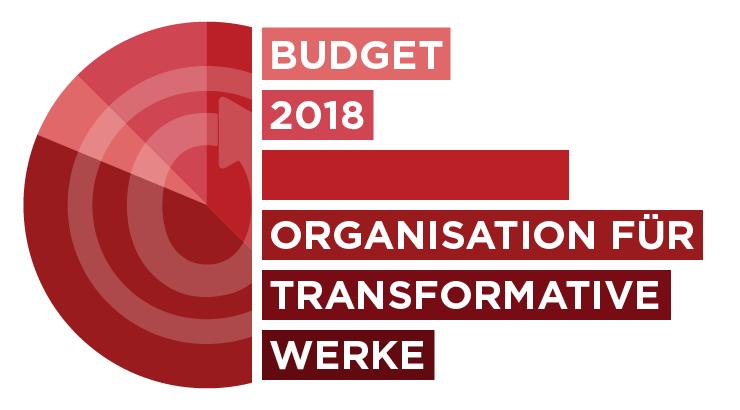 Organisation für Transformative Werke: Budget 2018