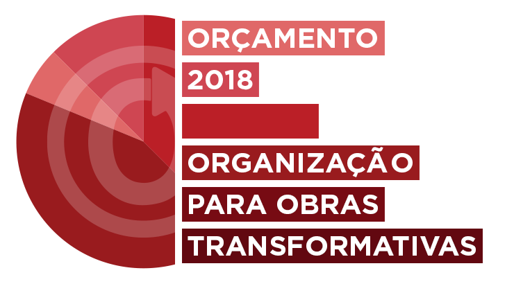 Organização para Obras Transformativas: orçamento para 2018