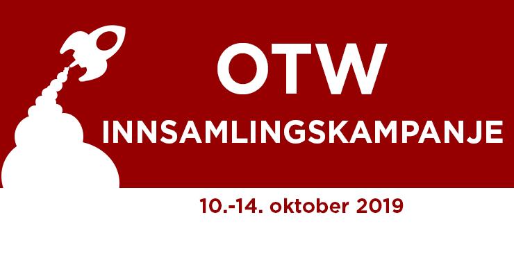 Organisasjonen for transformative verks innsamlingskampanje, 10.-14. oktober 2019