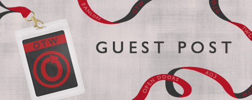 Banner by caitie of an OTW-themed guest access lanyard